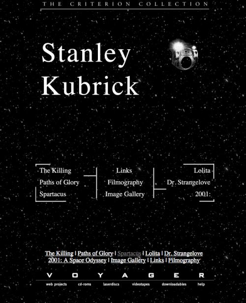 LD Kubrick Home Page